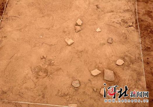 """定州市土厚村发现""""古墓""""还挖出"""""""